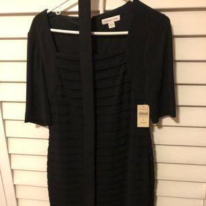 NWT Black Coldwater Creek evening dress